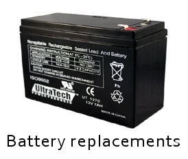 alarm battery replacements repairs