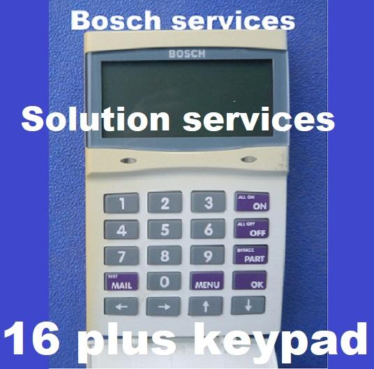 how to stop bosch alarm beeping