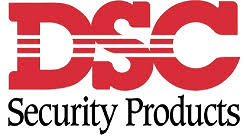 das dsc alarm system repair service logo