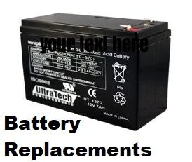 12 volt 7ah edm alarm battery replacements