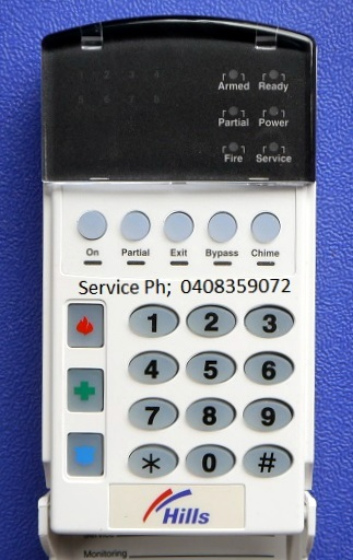 hills keypad services replacements
