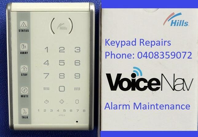hills networx voicenav keypad service repairs