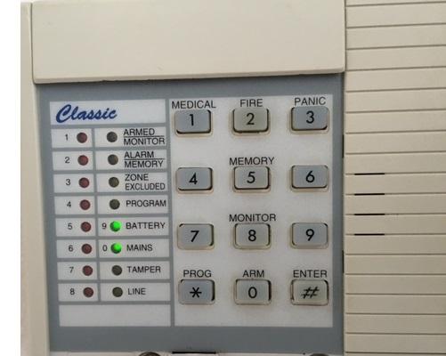 ness alarm classic keypad repairs ness 5000