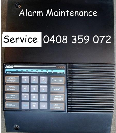 alarm repairs ness 5000 control panel